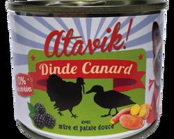 atavik chat pâtée 200 g dinde canard