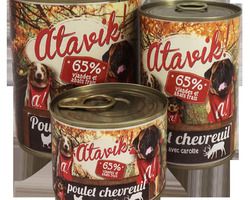 atavik humide 400 g poulet chevreuil
