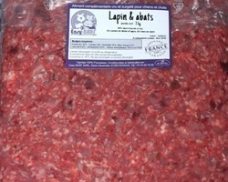 raw lapin abats 2 kg