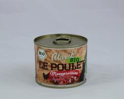 Atavik BIO  Pâtée monoprotéine au poulet 200g